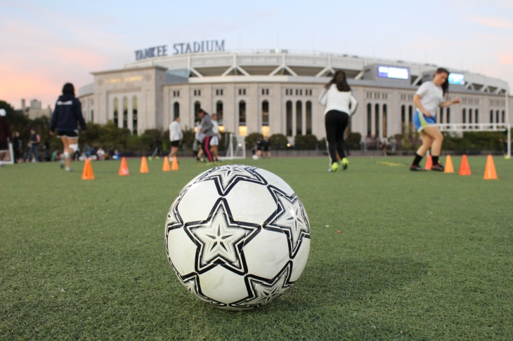 Through its fútbol program, South Bronx United brings togethers players from all corners of the globe with different ethnicities, nationalities and languages.
